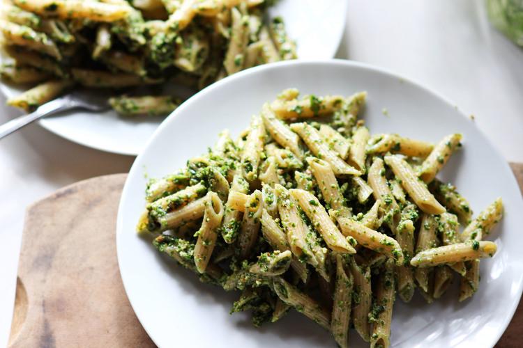 Pecan Herb Pasta \ Most Popular In January