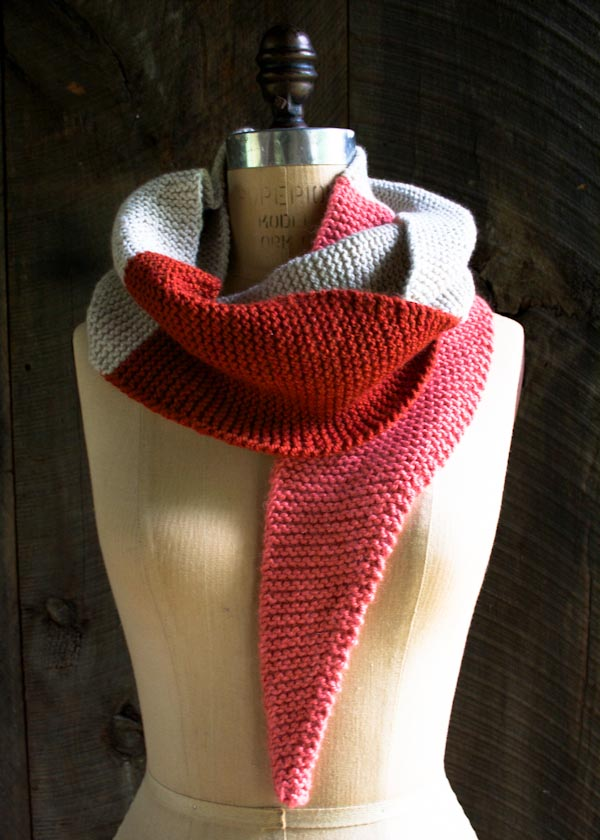 Color Tipped Scarf - The Purl Bee