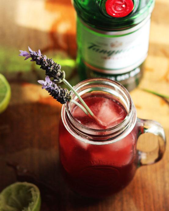 Pomegranate Gin-Bucha Cocktail