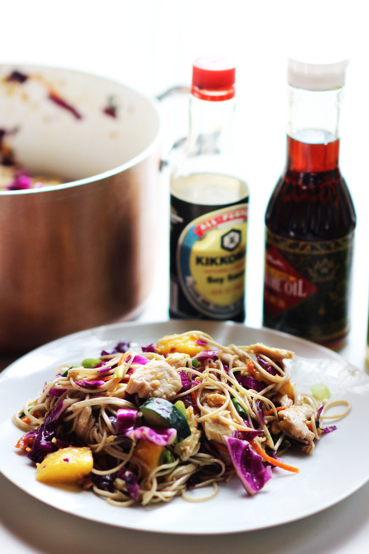 Asian Chicken Salad / Most Popular in February sweetdisasters.com