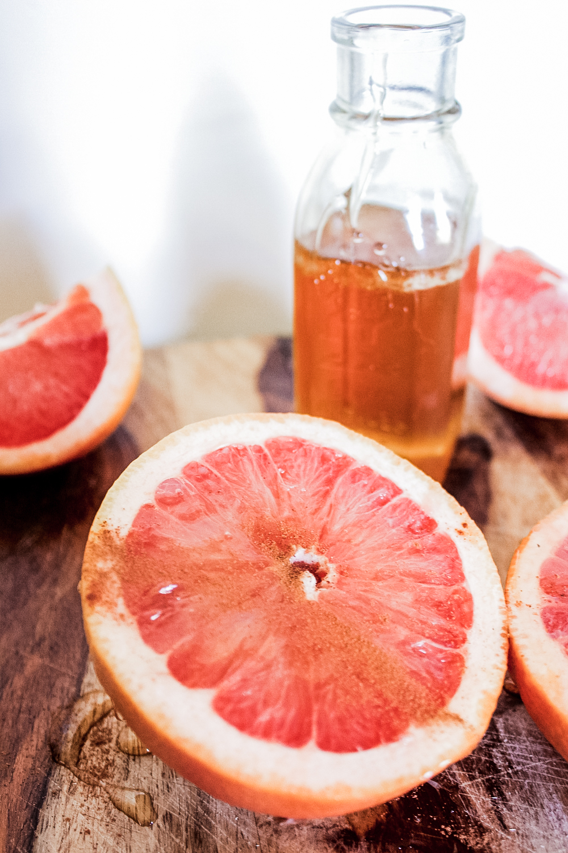 Oven-Roasted Grapefruit