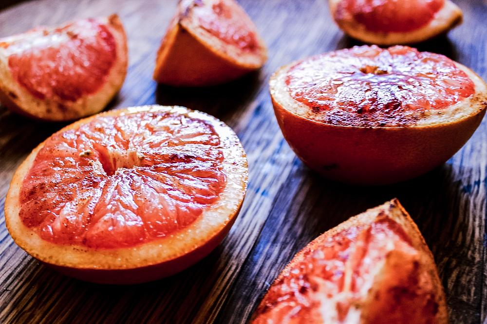 Oven-Roasted Grapefruit sweetdisasters.com
