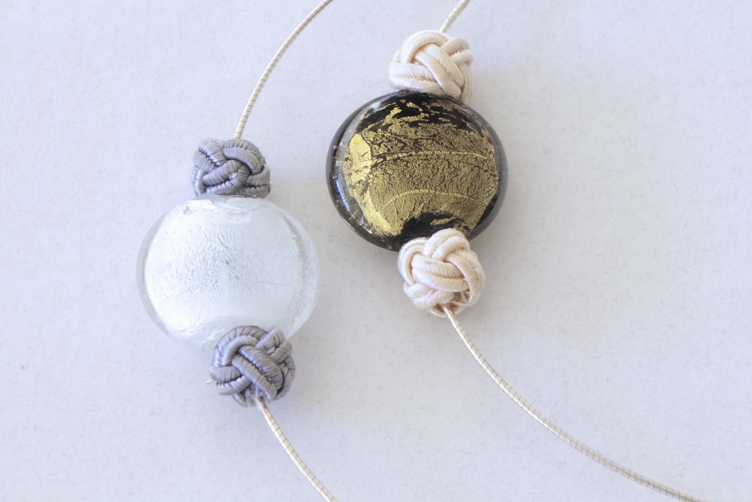 Pendant on Italian Sterling Wire