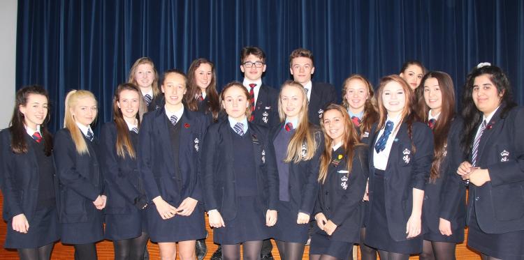 KINGS SCHOOL MACCLESFIELD - YEAR 11 STUDENTS