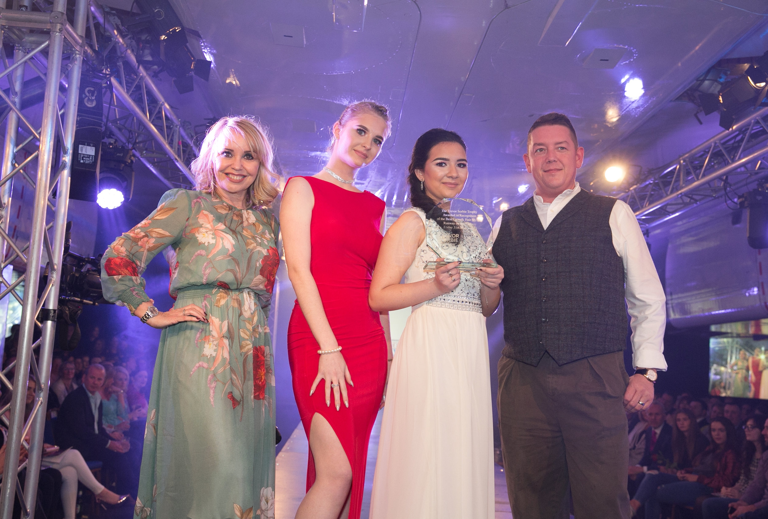 TREVOR SORBIE AWARD FOR BEST CATWALK HAIR WAS AWARDED TO THE CO-OPERATIVE ACADEMY