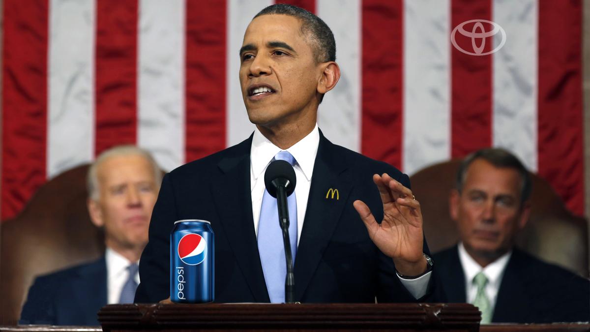 Obama to America: Snap into a Slim Jim.