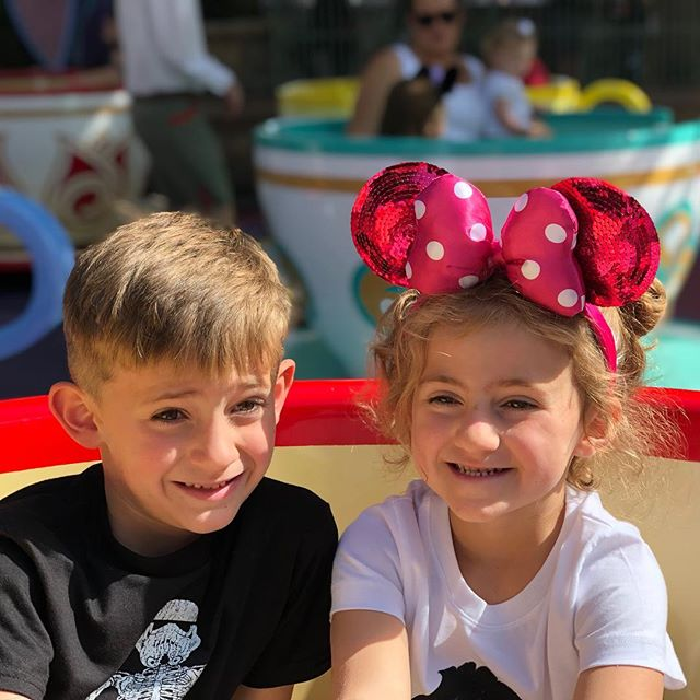 Hard not to have fun at Disneyland with these kids. #Disneyland2018