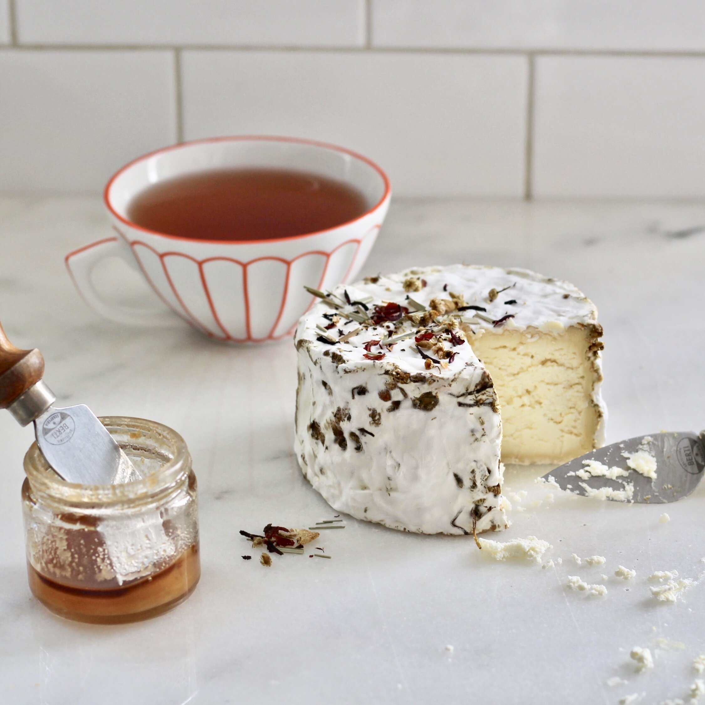Pairing created in collaboration with Stefania Patrizio, Cheesemonger at DiBruno Bros. House of Cheese in Philadelphia