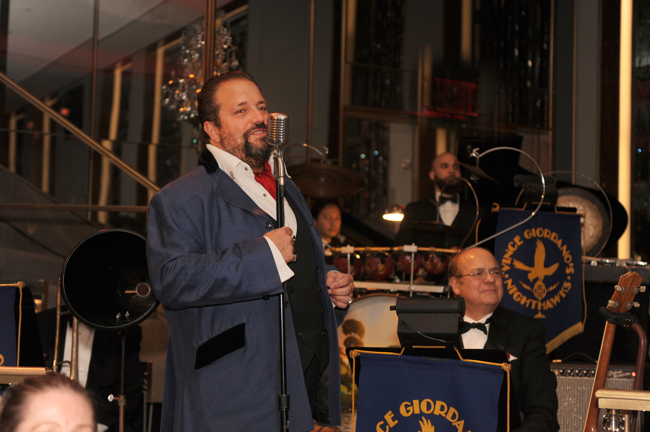 Raul performing at The Rainbow Room