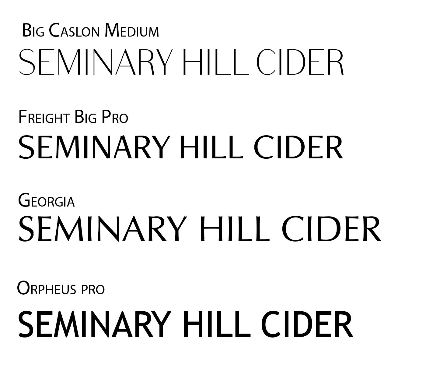 5 Sans Serif Fonts