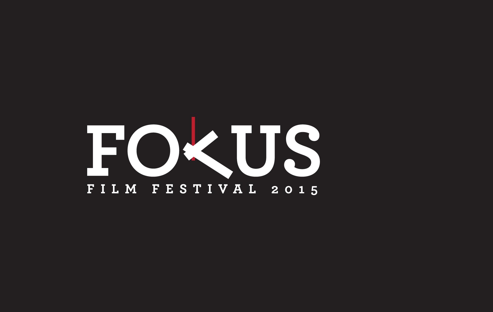 fokus film festival 2015 - LOGO DESIGN// March 2015