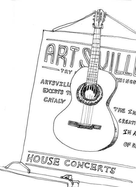 Sketches from  Artsville