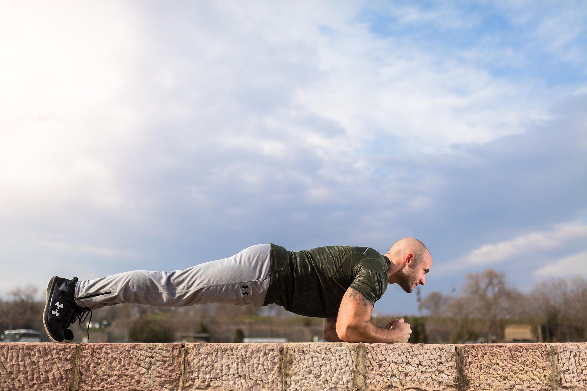 Planking Outside