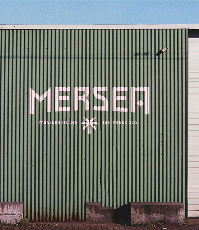 #TBT to the logo I designed with @jon_campbell for Mersea some time ago, a restaurant constructed from shipping containers located on Treasure Island. Check out their article over at the @eater_sf website.