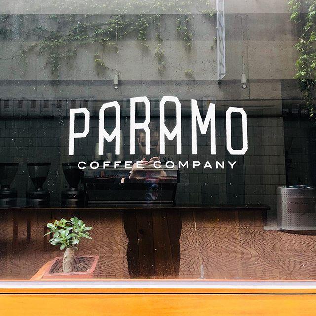 Logotype designed many moons ago for @paramocoffee
