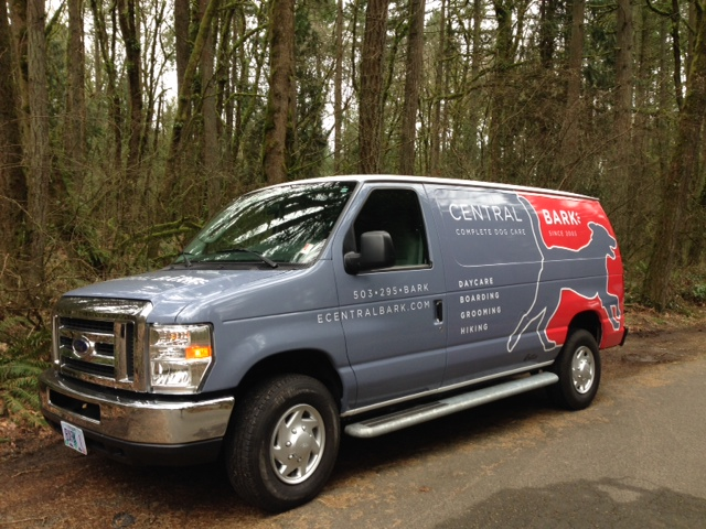 The Original Bark Dog Shuttle will safely transport your four-legged family to one of many trails in Portland.