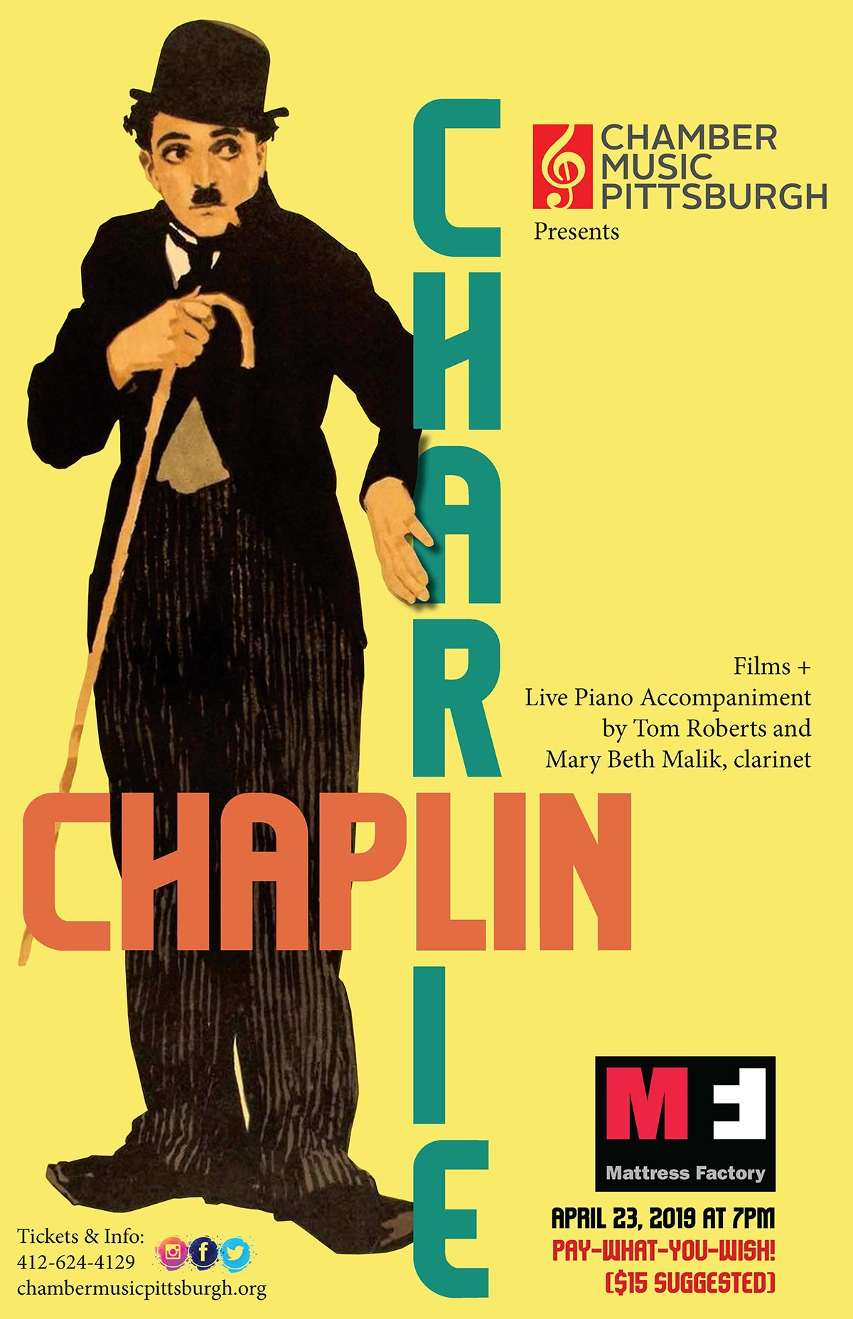 Charlie Chaplin Silent Picture Show