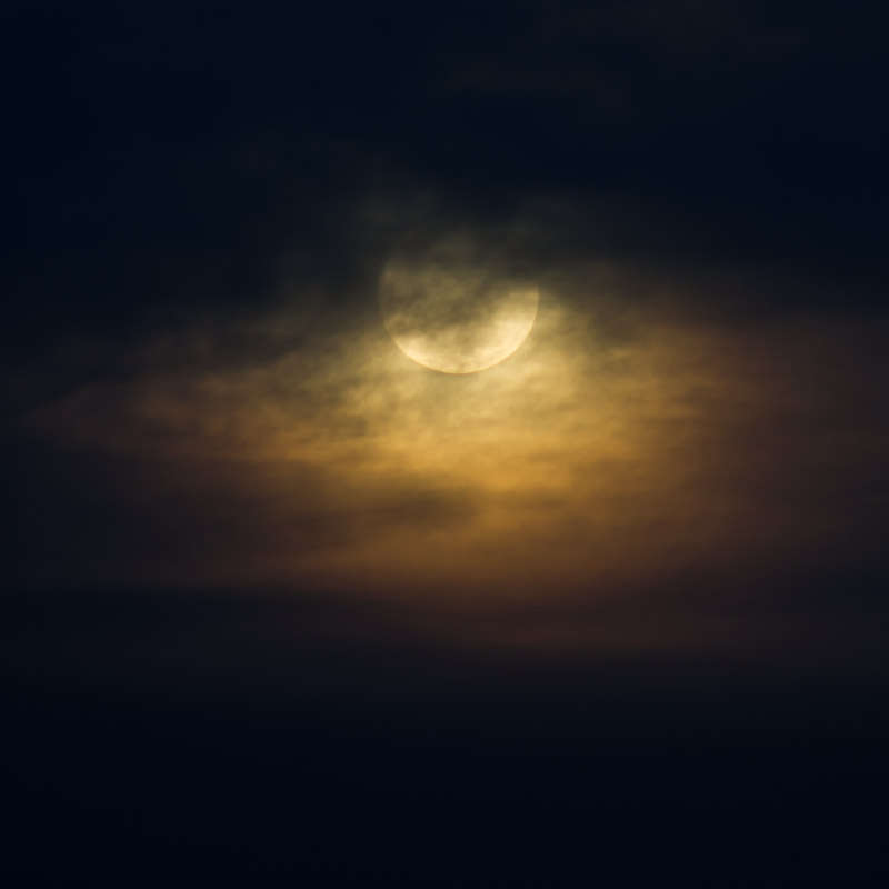 """Great Spirit Moon III"""