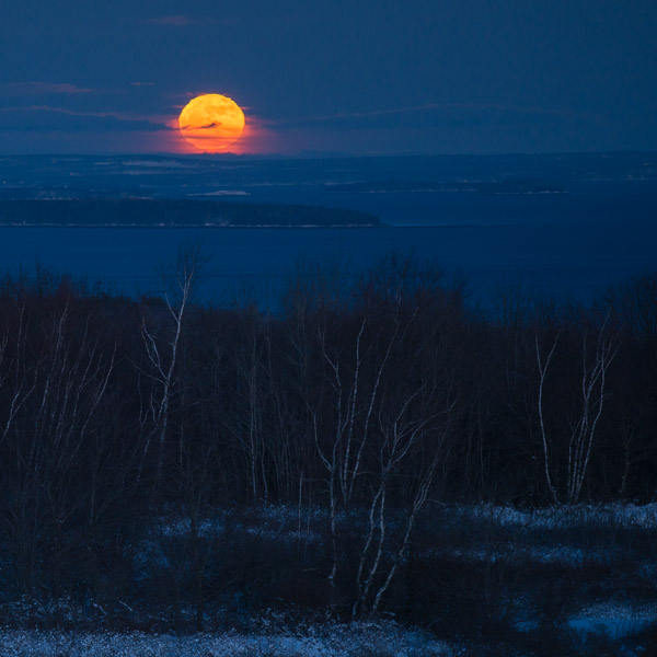 """""""Cold Moon I"""", Copyright Jim Nickelson."""