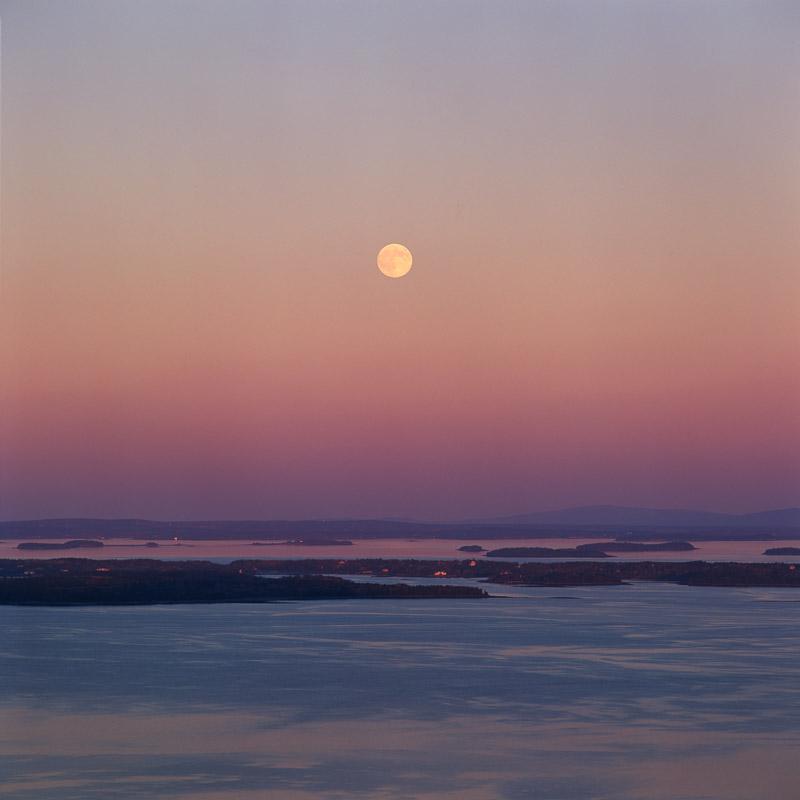 Moonrise, Penobscot Bay