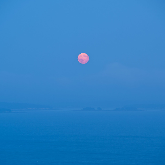 """""""Harvest Moon I"""", Copyright Jim Nickelson. All Rights Reserved."""