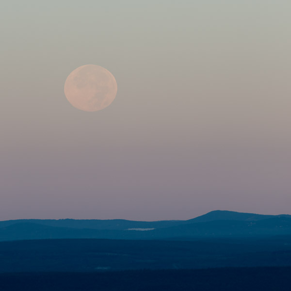 """""""Autumn Moon I"""", Copyright Jim Nickelson. All Rights Reserved."""
