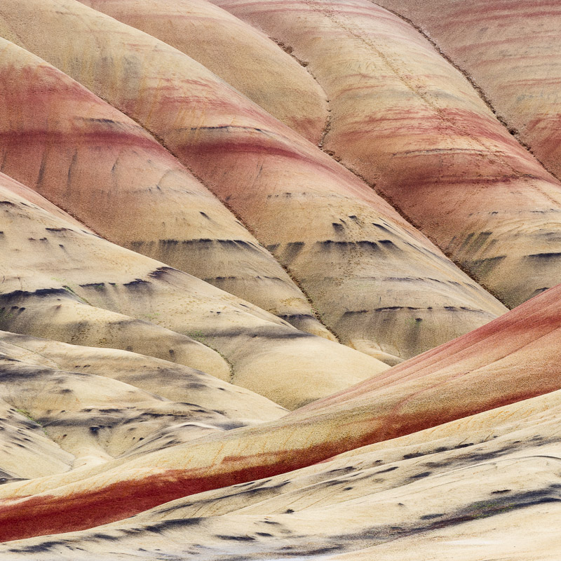 Painted Hills National Monument, Oregon, 2017