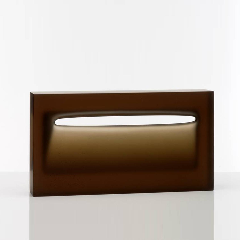 Richard Whiteley,  SOLD Envelop , 2010, cast glass, H 30 x W 60 x D 11.5 cm