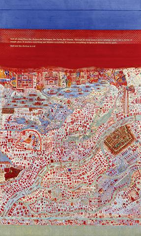 Nilima Sheikh.  Hunarmand , 2014. Collection of the artist.