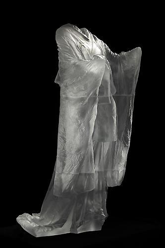 Kabuki, 2013. Cast glass, Multiple. 59 3/4 x 32 x 32 3/4 in.