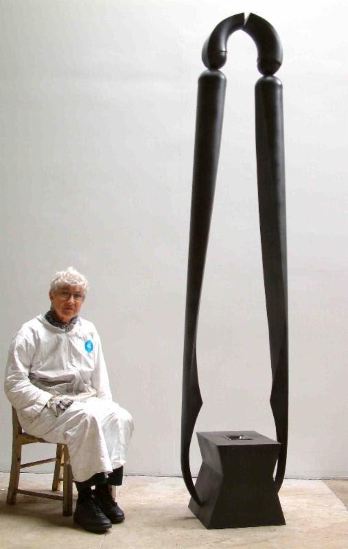 Bella Feldman. Lift. Steel. 99 x 15 x 20 in. Singular.