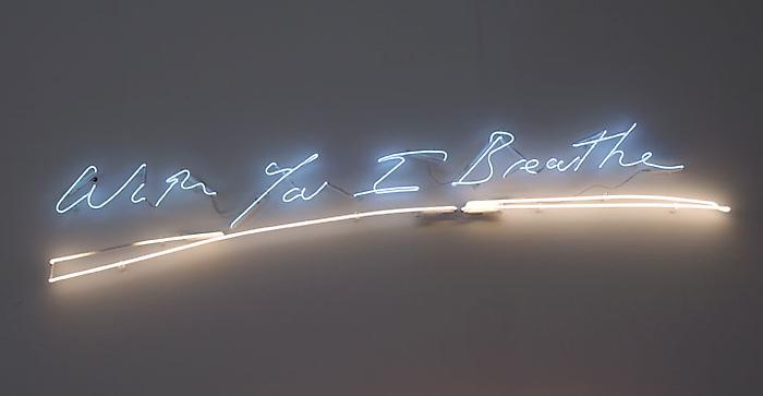 Tracey Emin. Courtesy of the artist and Lehmann Maupin.