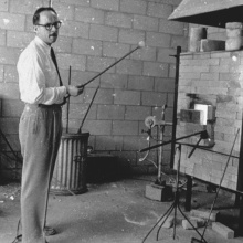 Harvey Littleton, June 1962