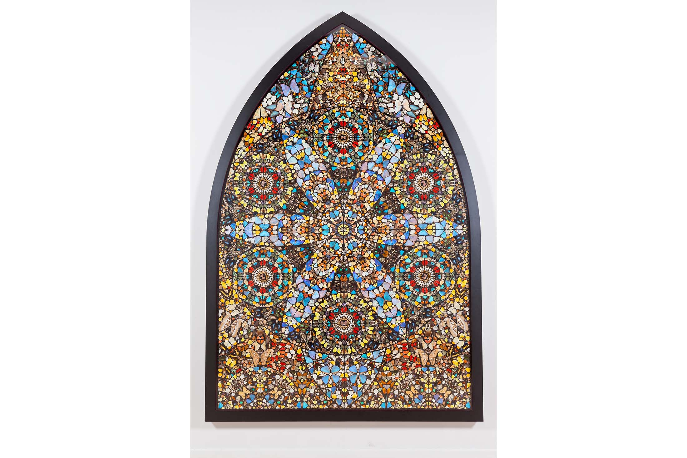 Damien Hirst's  Disintegration—The Crown of Life , from 2006. Source: Phillips