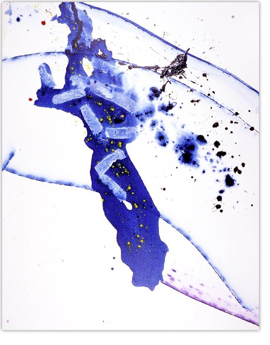 Sam Francis (1923-2010).  Untitled (SFP study2), 1990. Acrylic on canvas, 170 x 134,5 cm.