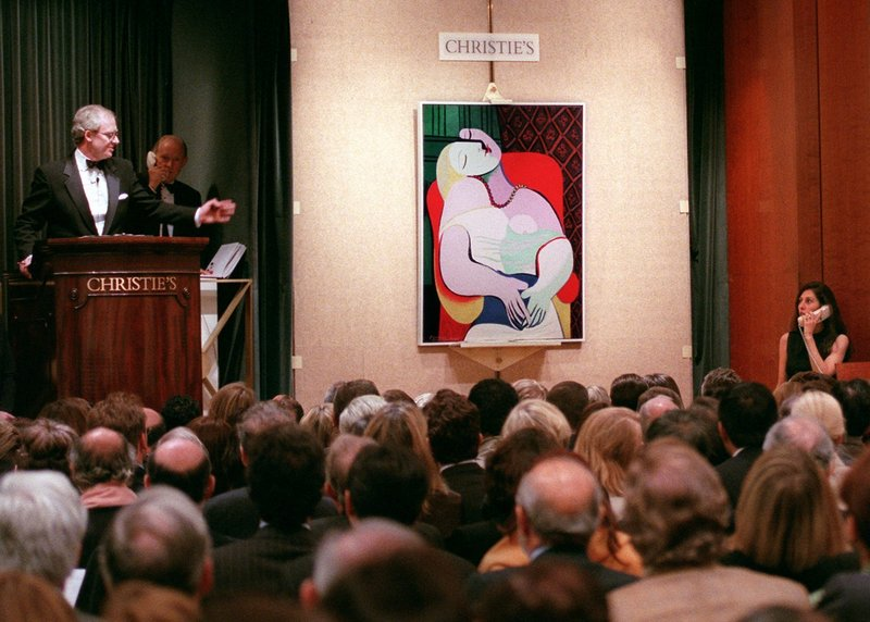 In 1997, the world was riveted by the story of Steve Wynn and his elbow, which tore through Picasso's Le Rêve, yet somehow didn't destroy the value of the painting.