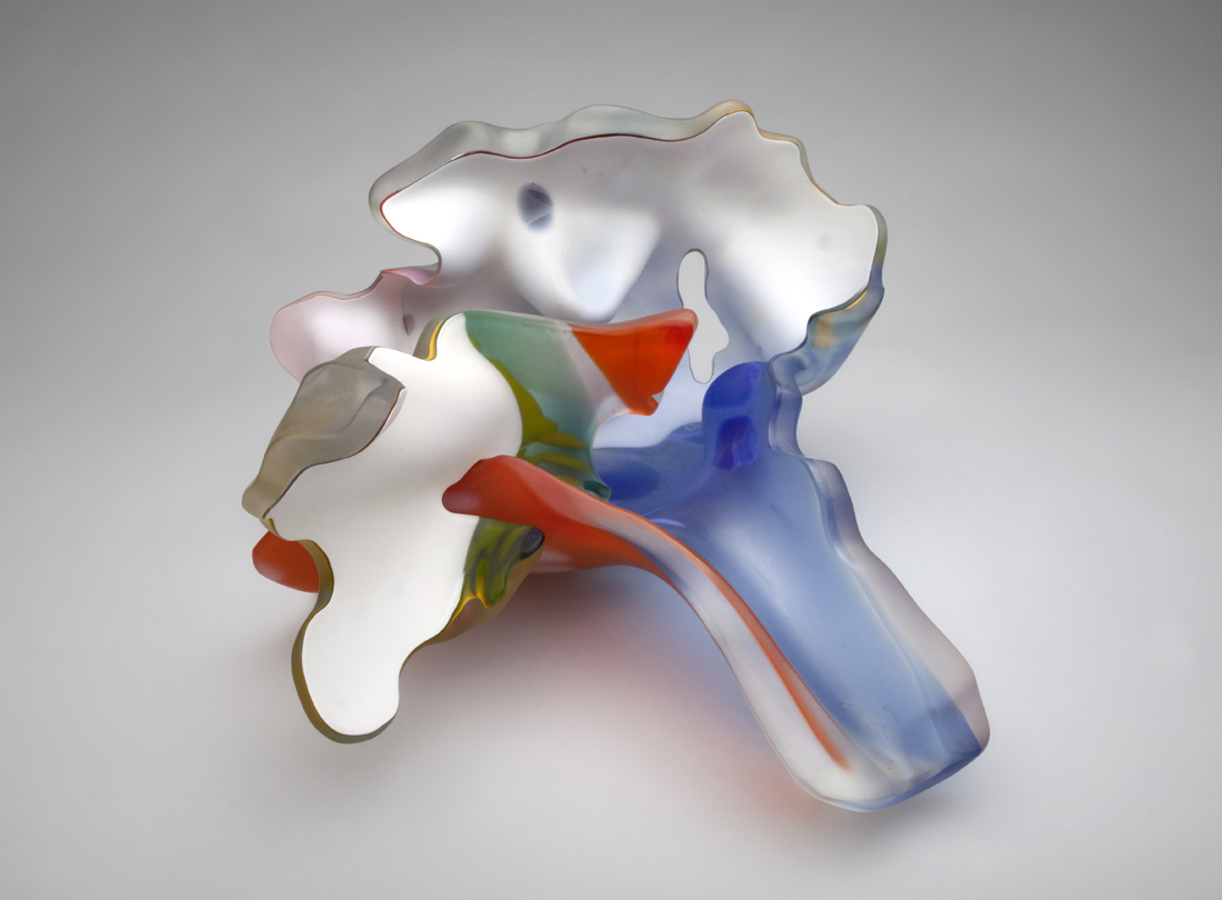 Marvin Lipofsky (American, 1938-2015). Russian Group #10 2006–07, mold-blown glass, cut, sandblasted, and acid polished. Blown at First International Symposium of Art Glass, Gus-Khrustalny, Russia, with help from Vladimir Zakharov and Boris Arbusov. Courtesy of the artist. L2014.2301.013