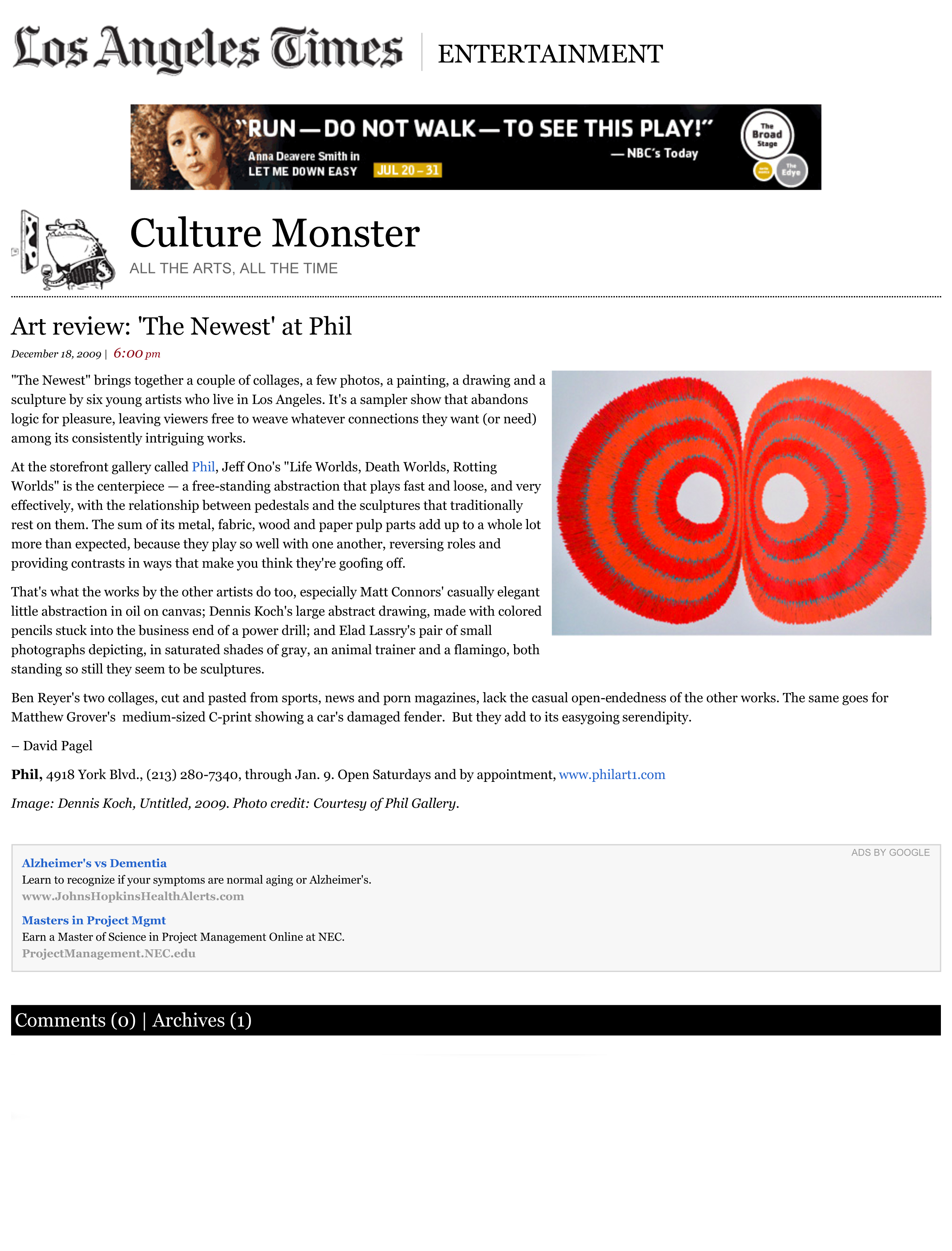 Art review_ 'The Newest' at Phil - latimes.com
