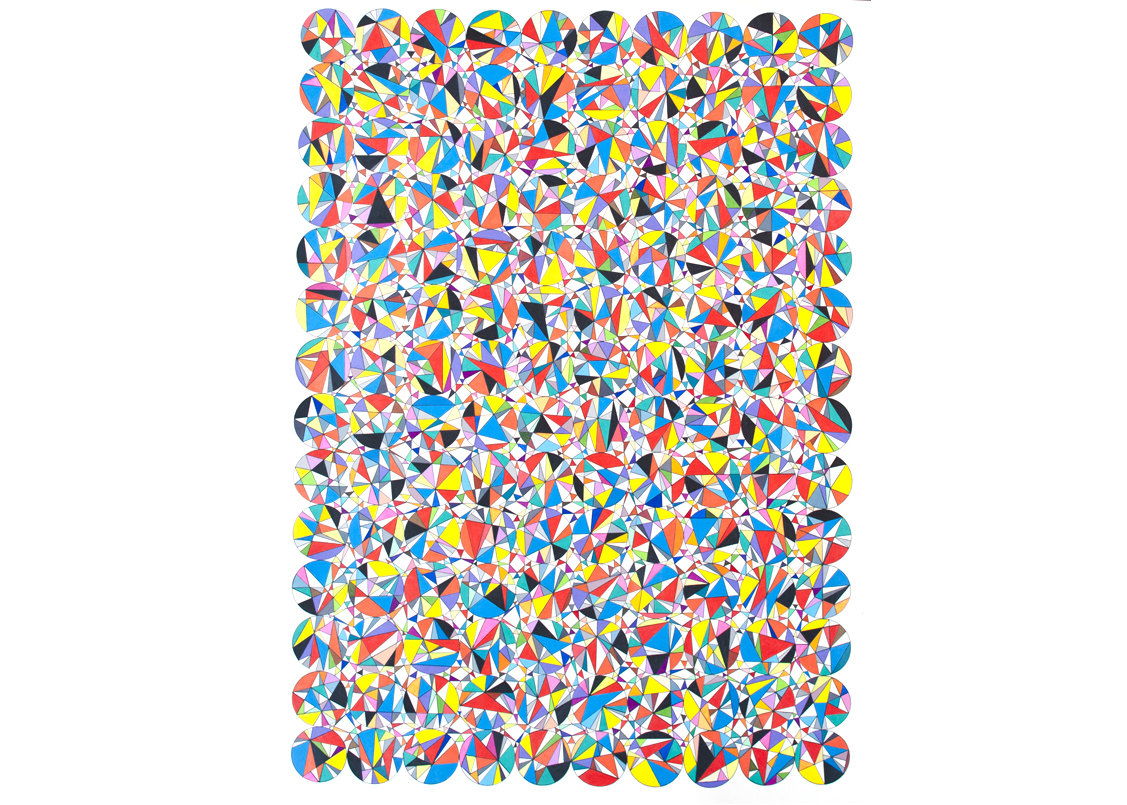 Untitled (Versor Parallel), 2013, 60 x 40 in.
