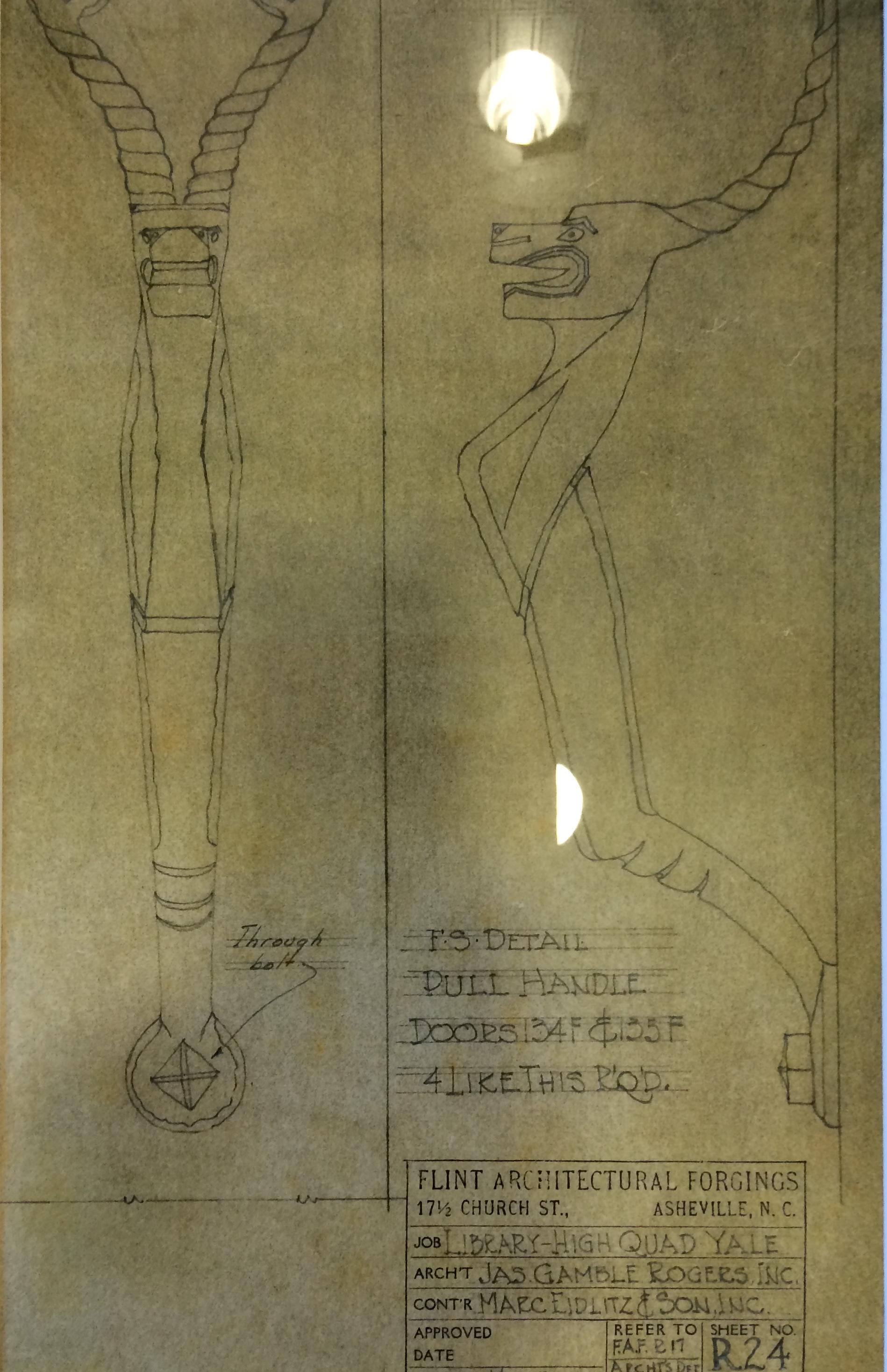 Plans for an elegant door knob
