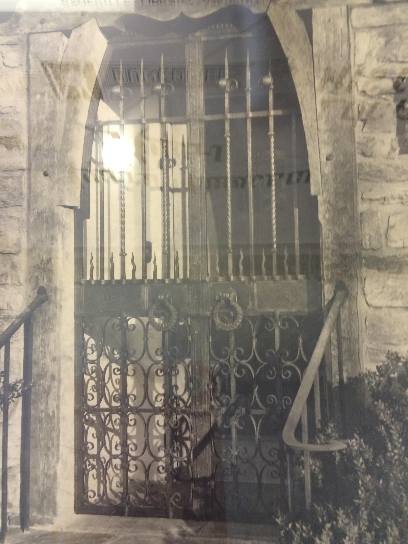 Gate at the Biltmore Estate