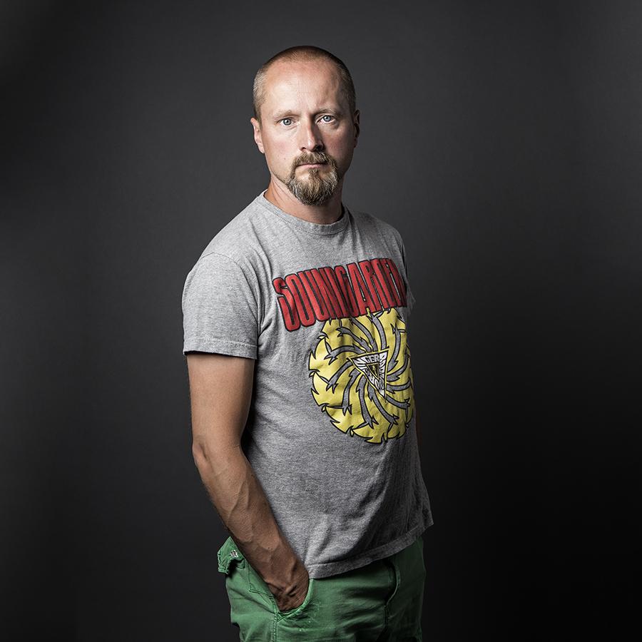 Petri Kulju. Kuva/Photo: Sanna Krook.