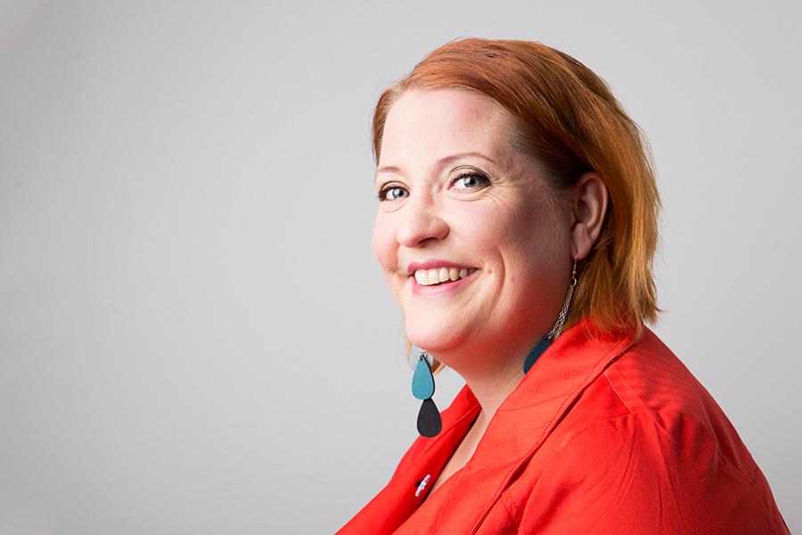 Tanja Tiainen, Oulu 2014. Kuva/Photo: Sanna Krook.