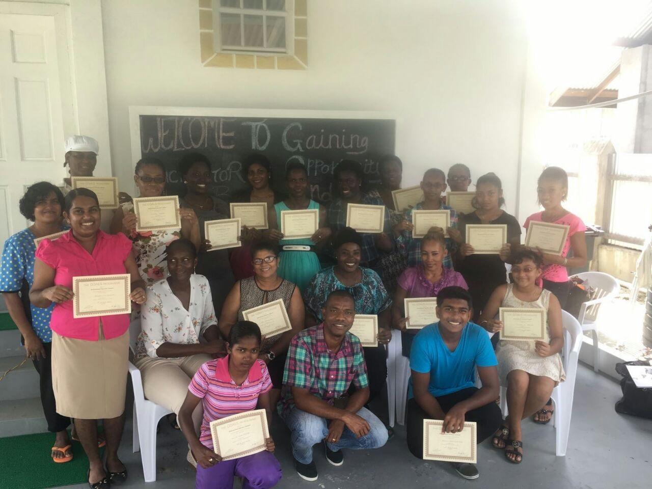Participants of the GOALS program