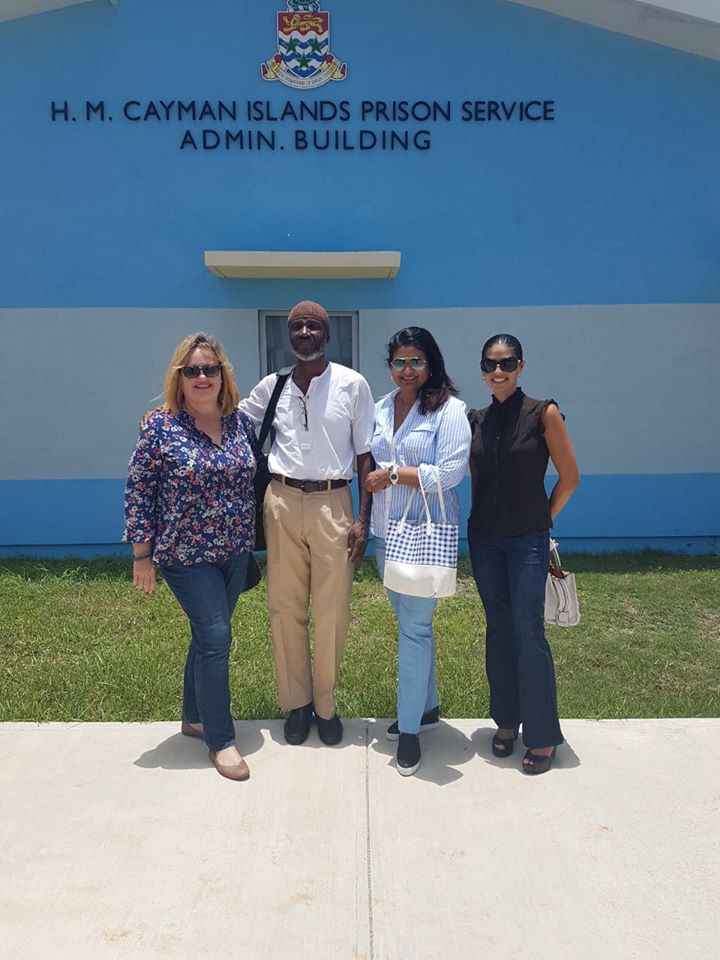 From Left are Managing Director of the Guyana Foundation, Ms. Susan Isaacs, Mr. Collin Bollers, Founder Mrs. Supriya Singh-Bodden and Ms. Joannah Bodden.