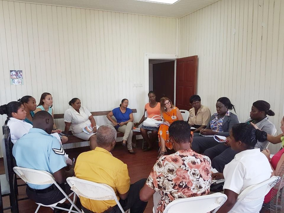 Many persons are benefiting from their expertise in this area, including members of the Guyana Police Force.
