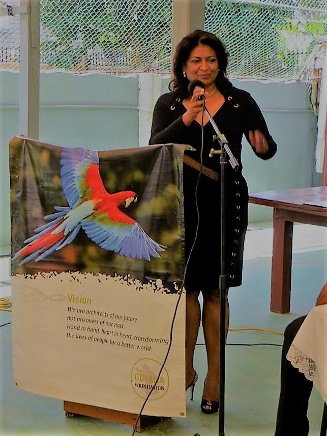 Supriya Singh-Bodden, CCH,    Founder,    Guyana Foundation