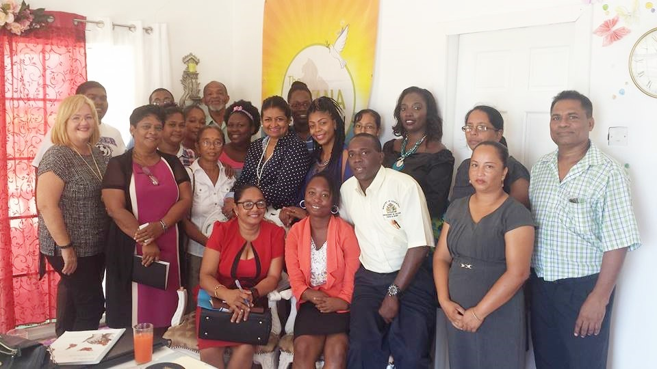 The Guyana Foundation Sunrise Center collaborated with the Ministry of Education, Culture, Youth and Sport with a workshop to continue the fight against suicide in Region Two at its Center on Tuesday 5th September 2017.