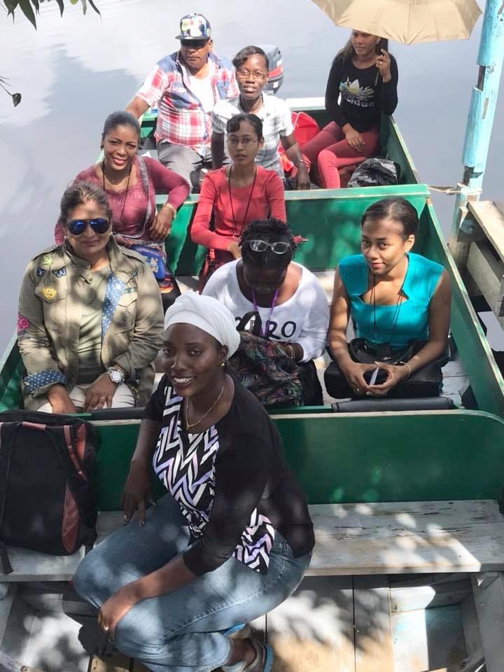 Guyana Foundation team heading to Mashabo.