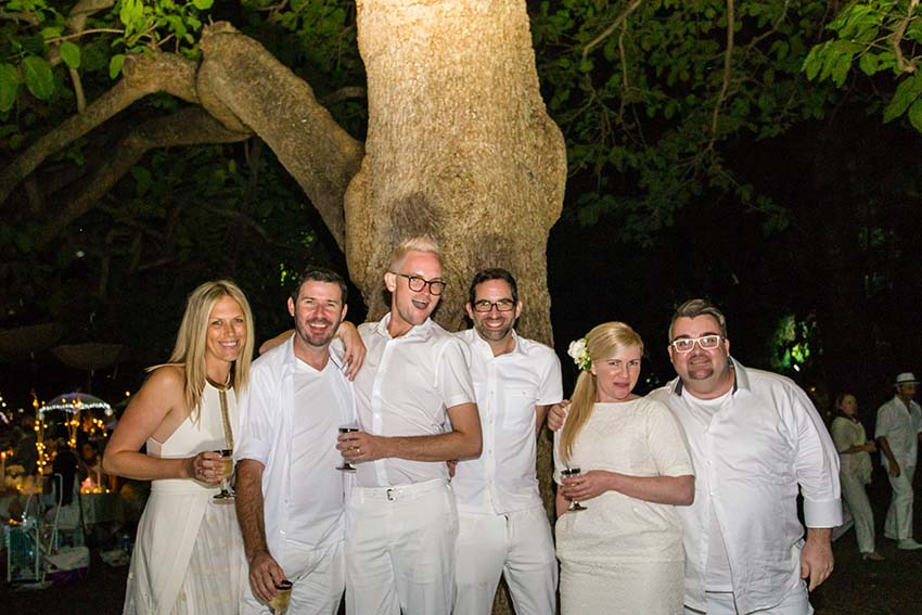 WEDDING SQUAD :: Cassie, Main Event Director; Brendan, Styled Events Director, Michael + Philip, EMTI Pr & Marketing; Nicola, Main Event Head Planner; Darren, Stamford Plaza Event Executive.